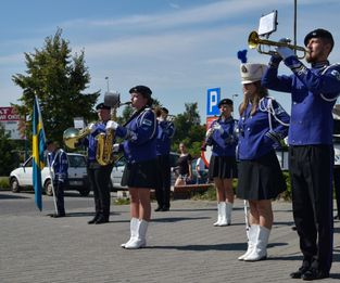 Engelholm Marching Band nya uniformer